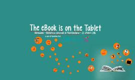 The eBook is on the Tablet. Biblioweek 2016