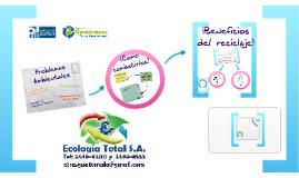 Copy of Copy of Reciclaje