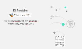 ESL Presentation
