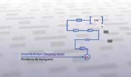 Copy of Cruce de Arroyo ( Stepping stone)
