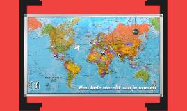 Een wereldkaart van mijn leven