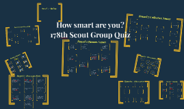 178th Scout Quiz 2017