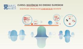 CURSO: DOCÊNCIA DO ENSINO SUPERIOR