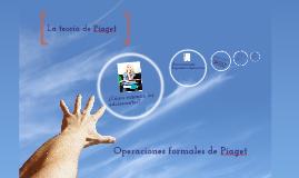 Copy of Operaciones formales de Piaget
