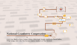 national cranberry cooperative by philip george on prezi rh prezi com National Cranberry Plant Cranberry Case Flow Diagram Process