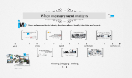When measurement matters