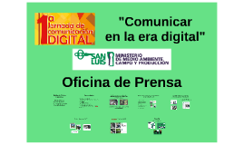 Comunicar en la era digital