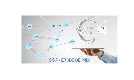 Copy of ETUDE DE PRIX