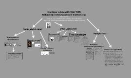 leniewski s systems of logic and foundations of mathematics urbaniak rafal