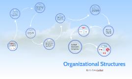 BUS104 Organizational Structures
