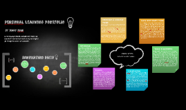 Personal Learning Portfolio