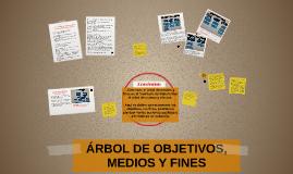 Copy of Árbol de Objetivos, Medios y Fines