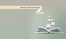 Elizabethan Schools and Education