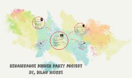 Renaissance Dinner party project