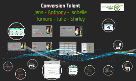 Copy of Copy of Copy of Conversion Talent
