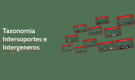Taxonomía Intersoportes e Intergeneros