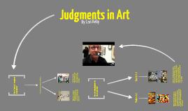 Judgments in Art