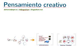 Pensamiento creativo. Diego Álvarez. @diegoalsan