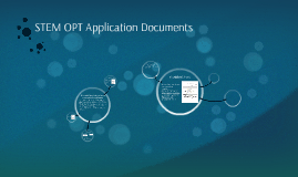 STEM OPT Application Documents