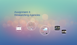 Assigment 4: Researching Agencies
