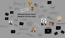 Minstrel Shows, Brass Bands & Tin Pan Alley