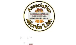 ASSEMBLEE GENERALE EXTRAORDINAIRE