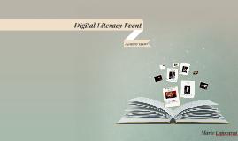 Digital Literacy Event