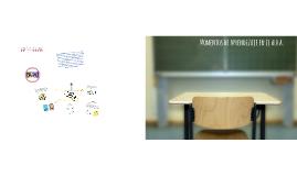 Copy of Momentos de aprendizaje en el aula
