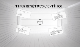 Copy of TIPOS DE METODO CIENTIFICO