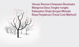 Valuasi Ekonomi Kawasan Ekowisata Mangrove Desa Tongke-tongk