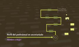 Perfil del profesional en secretariado