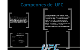 Ultimate Fighting Championship & PRIDE Fighting Championships