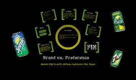 Brand v. Preference