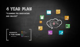 Copy of 4 year plan