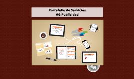 Portafolio de Servicios - AG Publicidad
