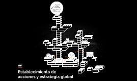 Establecimiento de acciones y estrategia global