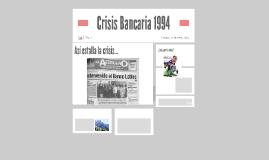 Crisis Bancaria 1994