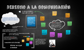 Derecho a la  comunicacion