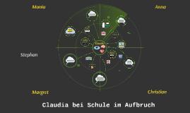 Claudia hat jetzt auf dem Radar...