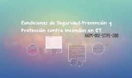 Condiciones de seguridad-Prevención y protección contra ince
