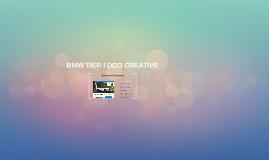 BMW TIER I DCO CREATIVE