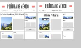 POLÍTICA DE MÉXICO