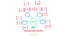 Copy of 1st Semester Exam Review