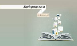 Skrivprocessen Johan Wagermark