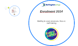Enrolment 2014