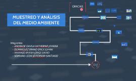 MUESTREO Y ANÁLISIS DEL MEDIO AMBIENTE