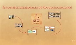 elaboració de xocolata - Júlia Armengol