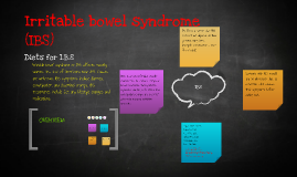 Irritable bowel syndrome (IBS