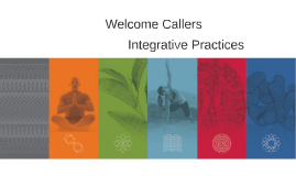 A Tool Kit of Integrative Practices