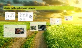 Storia dell'evoluzione umana